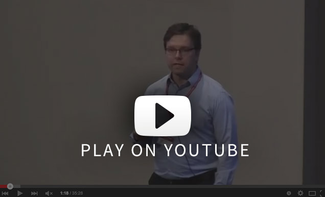 Video of Adam Glynn's presentation Challenges of Big Data in the Social Sciences